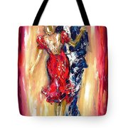 Embrace Of The Dance Tote Bag