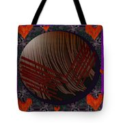 Embrace Our Earth With Love Pop Art Tote Bag
