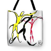Embracing Freedom Tote Bag