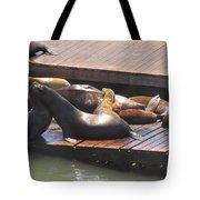 Embracing Tote Bag