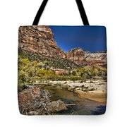 Emeral Pools Trail - Zion Tote Bag