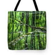 Emerald Reflections Tote Bag