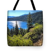 Emerald Bay Lake Tahoe California Tote Bag