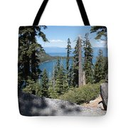Emerald Bay Vista Tote Bag