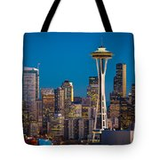 Emerald City Evening Tote Bag