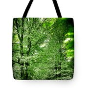 Emerald Clearing Tote Bag