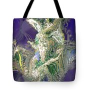 Emerald Elemental Tote Bag