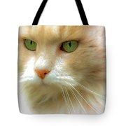 Emerald Eyes Tote Bag