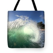 Emerald Flare Tote Bag