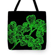 Emerald Isle Shamrocks  Tote Bag