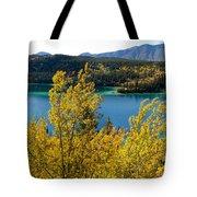 Emerald Lake At Carcross Yukon Territory Canada Tote Bag