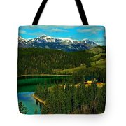 Emerald Lake - Yukon Tote Bag