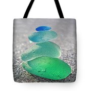 Emerald Light Tote Bag by Barbara McMahon