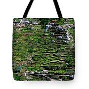 Emerald Madeira Terraces Tote Bag