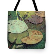 Emerald Pond Tote Bag
