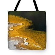 Emerald Pool Yellowstone National Park Tote Bag