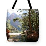 Emerald Pool - Zion Np Tote Bag