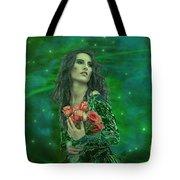 Emerald Universe Tote Bag