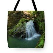 Emerald Waterfall Tote Bag