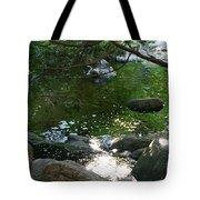 Emerald Waters Tote Bag