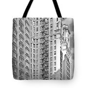 Emergency Exit Chicago Il Tote Bag by Christine Till