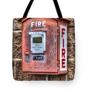 Emergency Fire Box Tote Bag