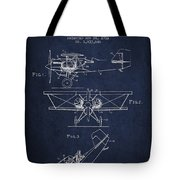 Emergency Flotation Gear Patent Drawing From 1931 Tote Bag by Aged Pixel