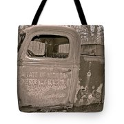 Emergency Truck Tote Bag