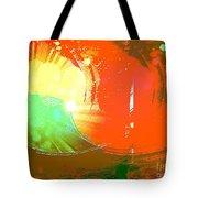Emergent Sun Tote Bag
