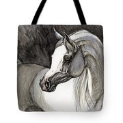 Emerging From The Darkness Tote Bag