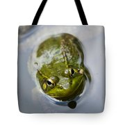 Emerging Green Tote Bag by Christina Rollo