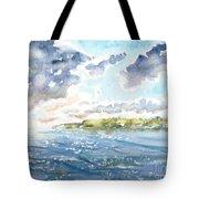 Emerging Sun  Tote Bag