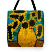 Emilie Sunflowers Tote Bag