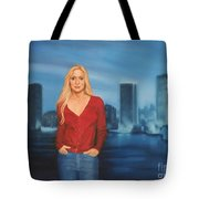 Emily  Miami Skyline Tote Bag