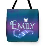 Emily Name Art Tote Bag