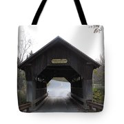 Emily's Bridge Stowe Vermont Tote Bag