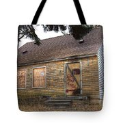 Eminem's Childhood Home Taken On November 11 2013 Tote Bag