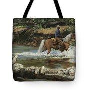Palomino Crossing Big Creek Tote Bag