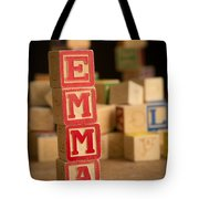 Emma - Alphabet Blocks Tote Bag