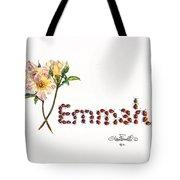 Emmah In Ladybugs Tote Bag