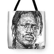 Emmanuel Jal Tote Bag