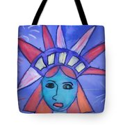 Emma's Lady Liberty Tote Bag