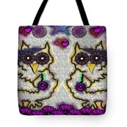 Emo Owls Tote Bag