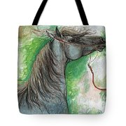 Emon Polish Arabian Horse 1 Tote Bag