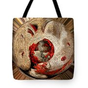 Emotional Upheaval II Squared Tote Bag