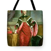 Emperor Francis I 1708-65 Holy Roman Emperor, Wearing The Official Robes Of The Order Of St. Stephan Tote Bag