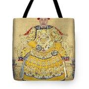 Emperor Qianlong In Old Age Tote Bag