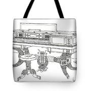 Empire Period Piano 1820 Tote Bag