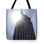 Empire State At Hign Noon Tote Bag
