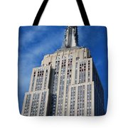 Empire State Building - Nyc Tote Bag